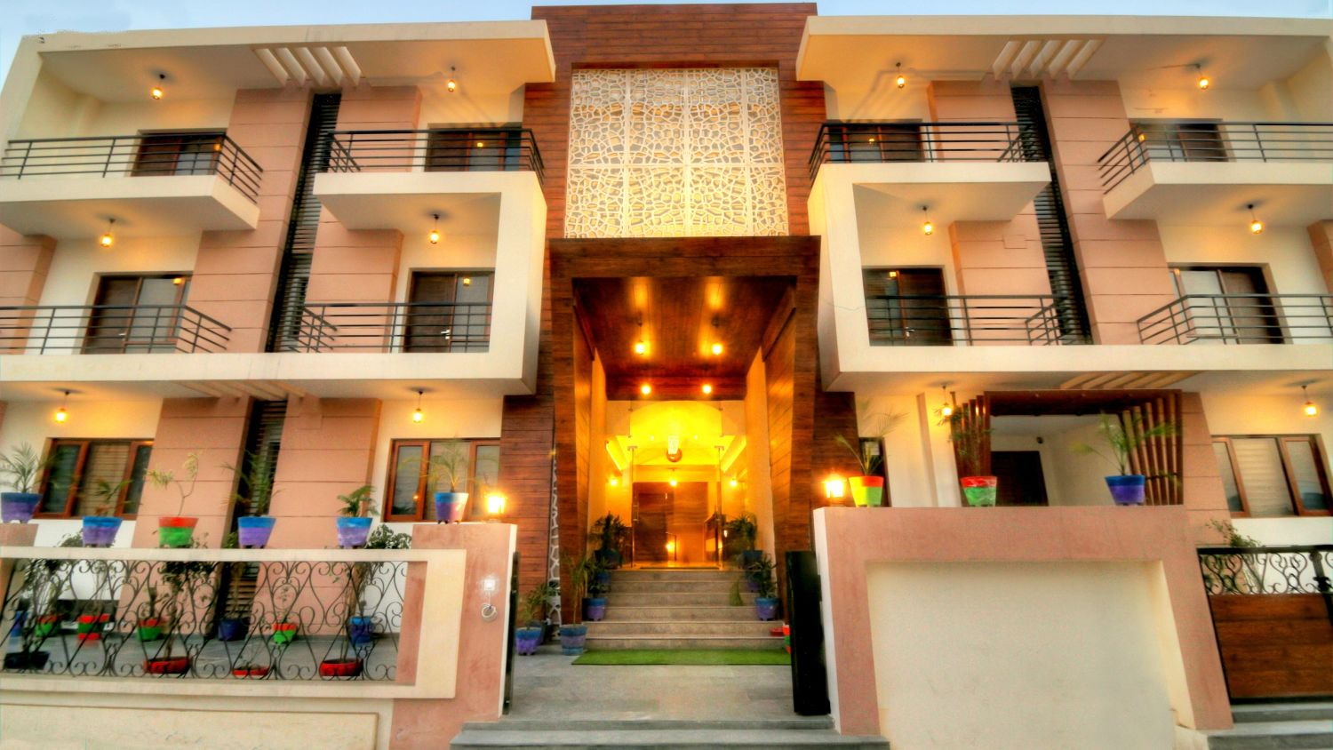 Facade of Our Hotel in Greater noida, Hotel Atithi Suites, Greater noida