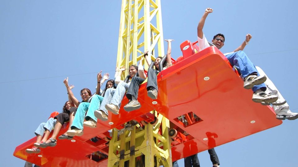 Thrillers Rides - Drop Zone at  Wonderla Amusement Park Bangalore