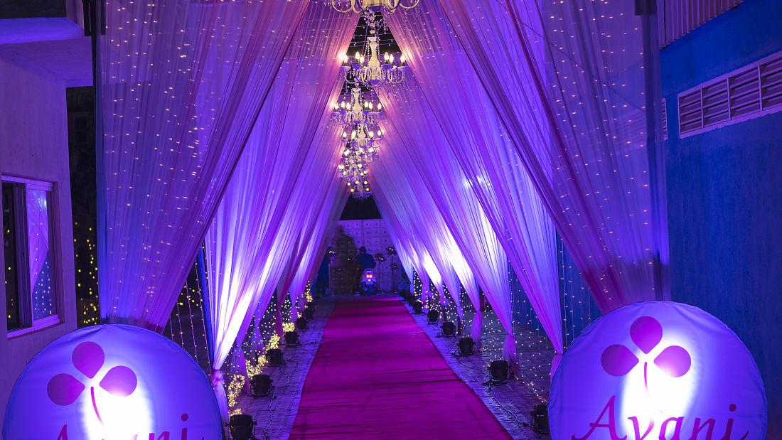 Destination Weddings in Bangalore, best wedding halls, wedding venues in Bangalore thyjyAvani Palms 6