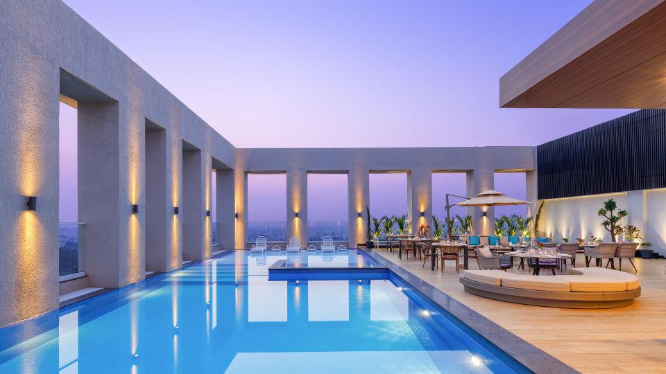 Terrace Lounge at Sarovar Junagadh 2