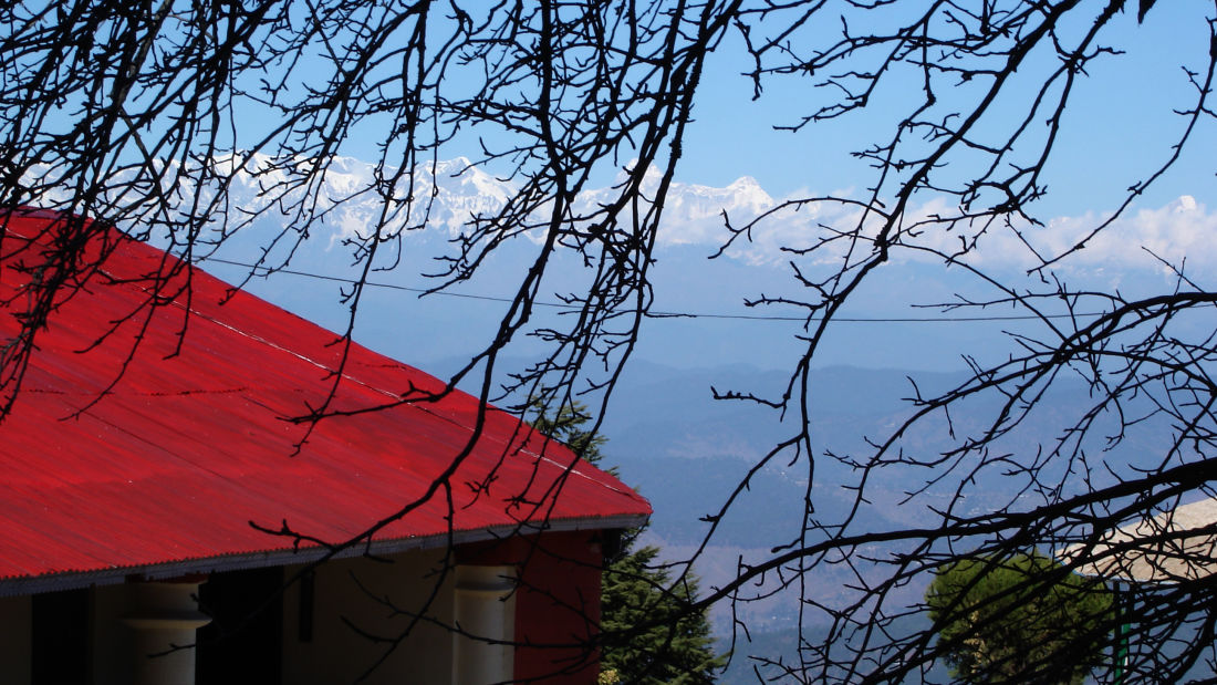 Let s Camp Sitlakhet Himalaya view 1