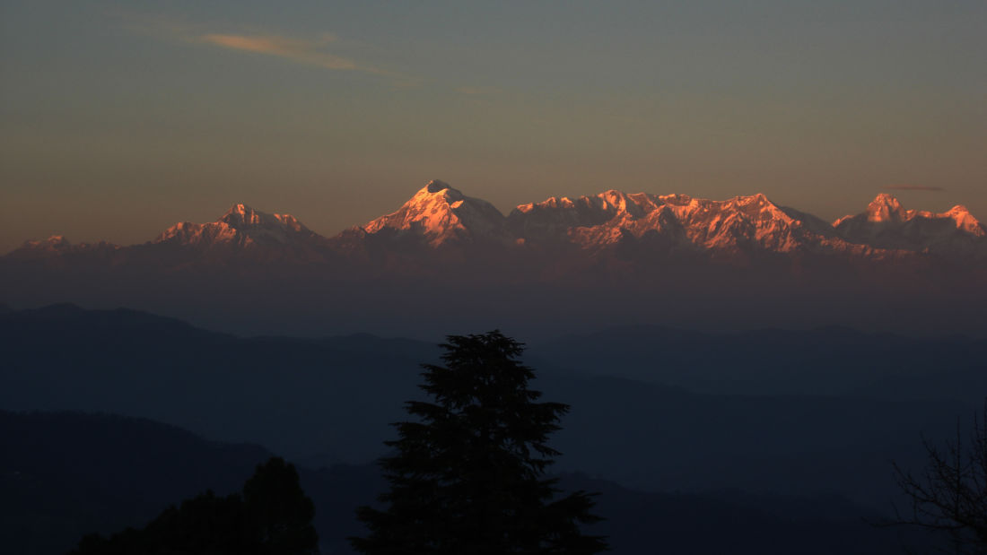 Let s Camp Sitlakhet Himalaya view sunset