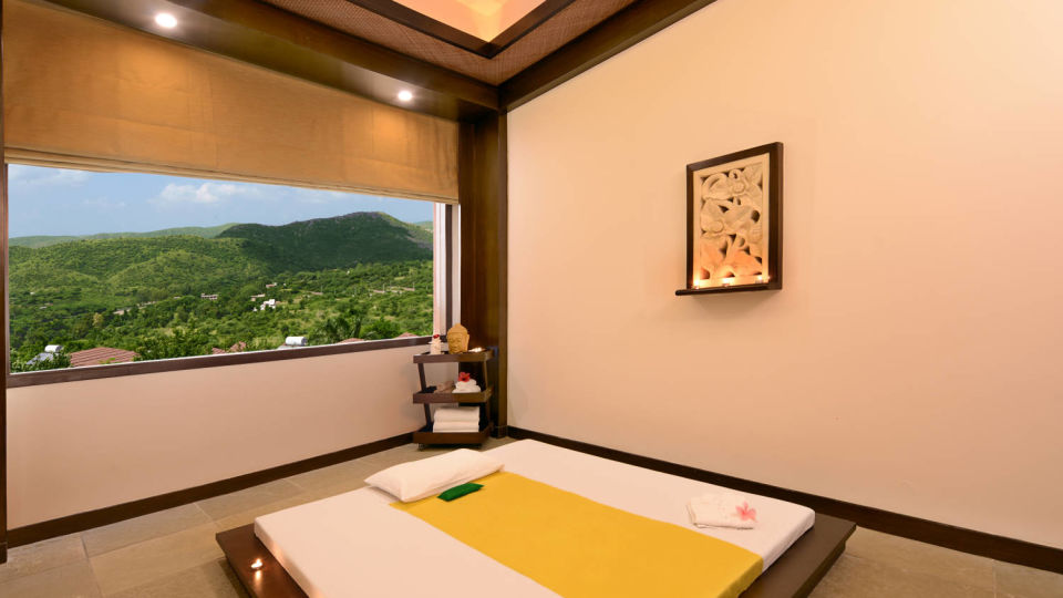 Interior of spa at ananta udaipur, best spas in udaipur