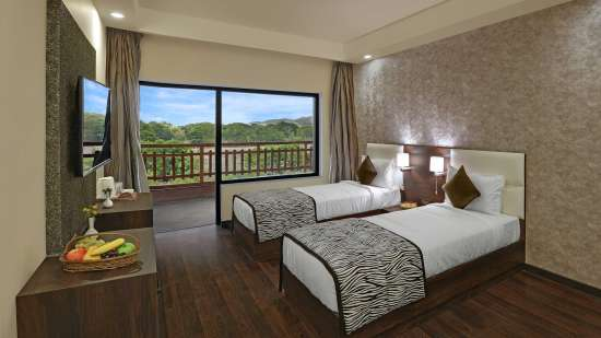 Rooms in Ranthambore, The Baagh Ananta Elite, Super Deluxe Rooms