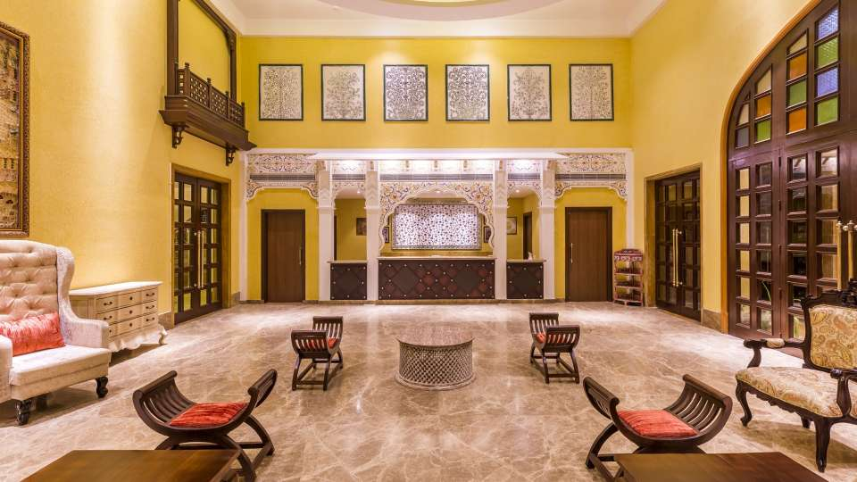 Reception n Lobby at Sairafort Sarovar Portico Jaisalmer