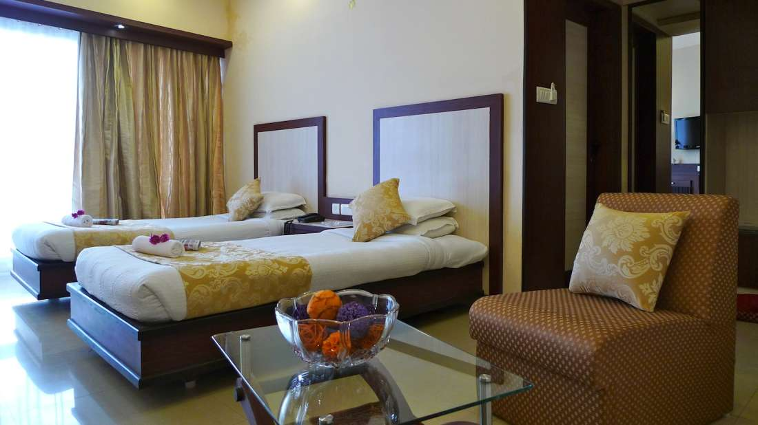 Deluxe room The Hans Hotel Hubli 1