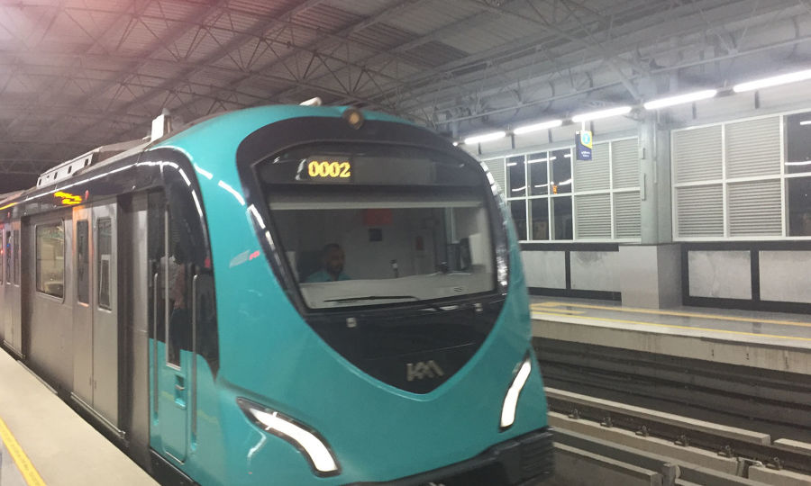 alt-text Kochi Metro Train