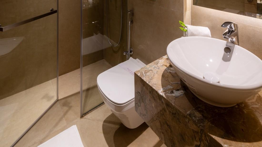 Guest Washroom.