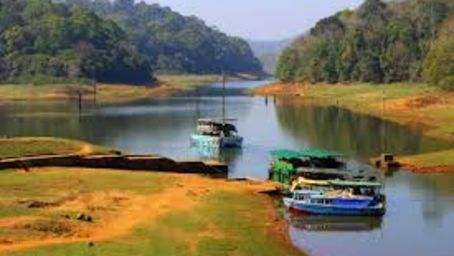 Boat Safari Reni Pani Jungle Lodge Satpura