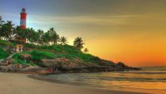 Light house beach Kovalam