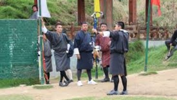Archery Ground Bhutan