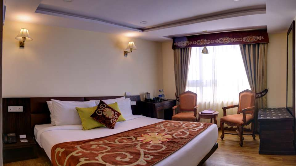 Deluxe Room at Summit Hermon Hotel Spa Darjeeling 1
