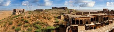 Facade_Tijara Fort Palace_Hotel In Rajasthan 1