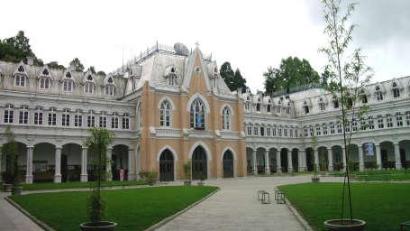 Quadrangle St Josephs School Central Hotel Resort Darjeeling Central Hotels
