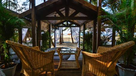 LaRiSa Beach Resort in Goa - Private Sitting Area