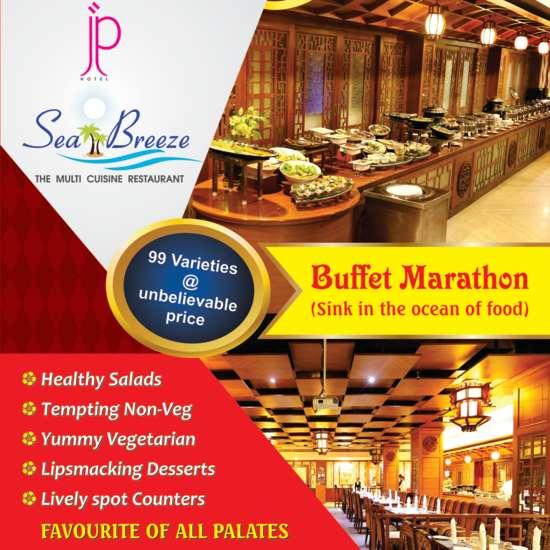 JP Hotel in Chennai Seabreeze