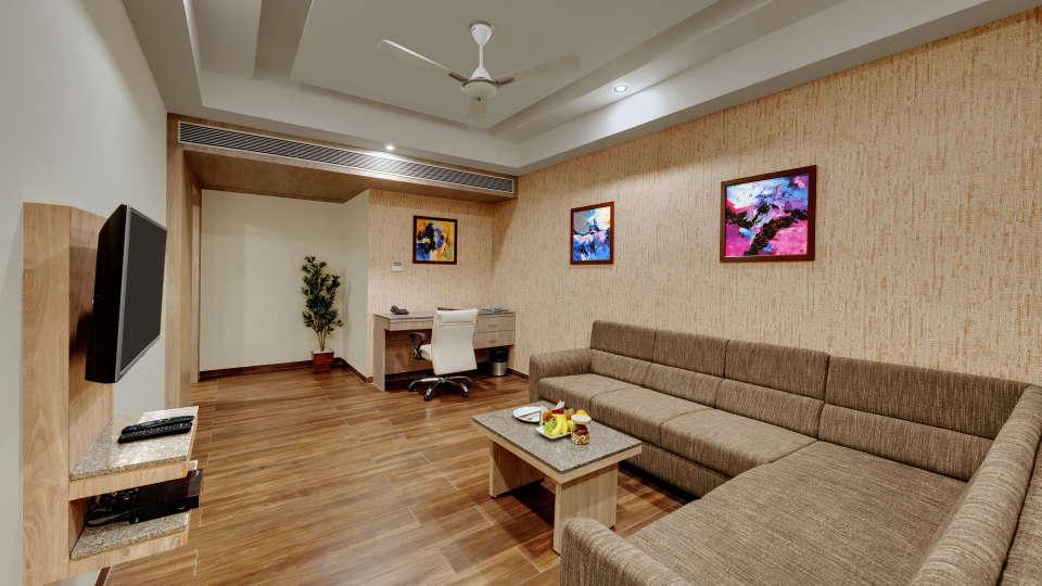 Suite at Anaya Beacon Hotel in Jamnagar 5