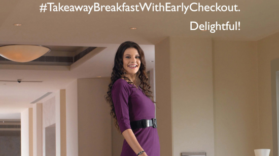 Happiness at Sarovar Leading chain of hotels in India Breakfast with early check in check out
