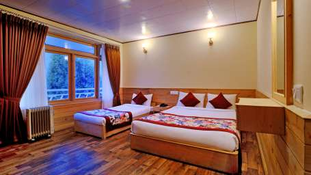 Deluxe Room at Summit Alpine Resort Lachung 7