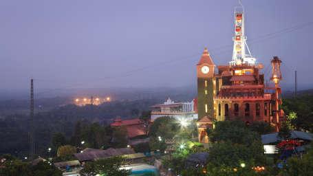 Exterior View of  Wonderla Kochi Amusement Park