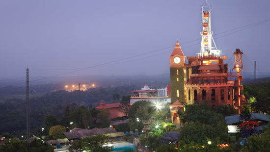 Exterior View of  Wonderla Kochi Amusement Park