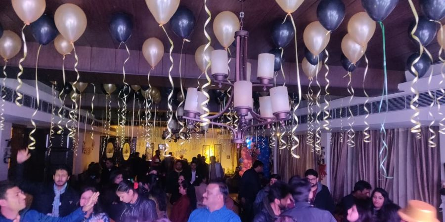 alt-text Banquet hall at Hotel Mount View, Weddings in Dalhousie, Banquet Hall in Dalhousie 6