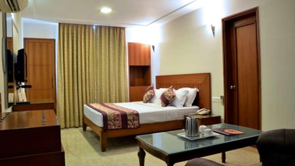Hotel Trisha Bhoomi Residency, Agra Agra Club Balcony Room Hotel Trisha Bhoomi Residency Agra
