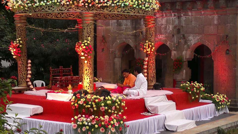 Royal Wedding at Fort Jadhavgadh Heritage Resort Hotel Pune