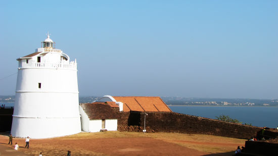 The Lighthouse Aguada Goa Goa Fort Aguada