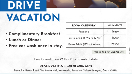 Lotus Goa - Drive Vacation Emailer