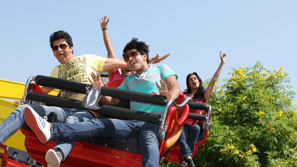 Dry Rides - Techno Jump at  wonderla Amusement Park Bangalore