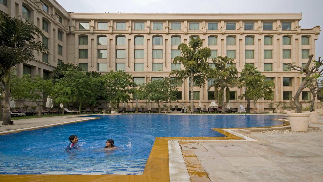 Swimming Pool Hotels The Grand New Delhi Hotels In Vasant Kunj