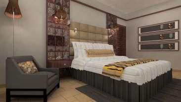 Neelkanth Sarovar Premiere Luxury Hotel in Lusaka Rooms 1