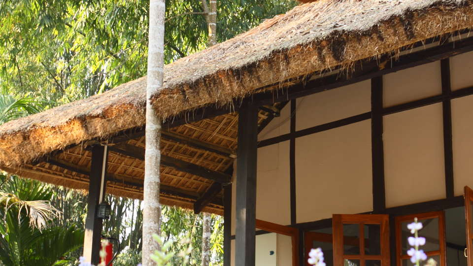 Exterior View of the Cottage at Infinity Resorts Kaziranga, Rooms in Kaziranga 3