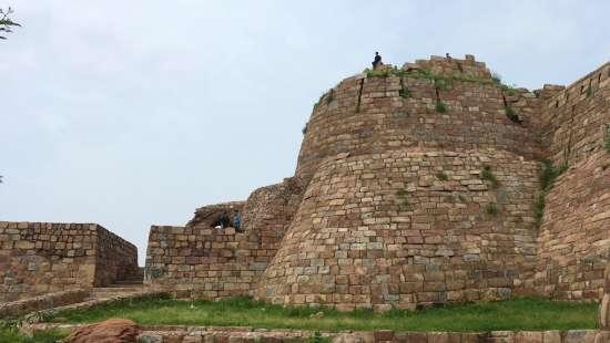tughlagabad fort