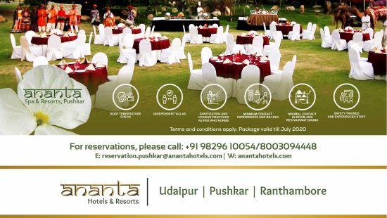 Ananta Wedding Pushkar Emailer pushkar unit