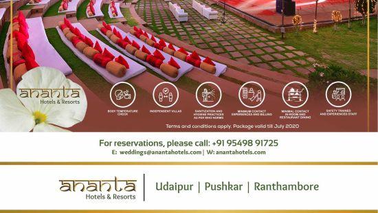 Ananta Wedding Udaipur Emailer udaipur unit