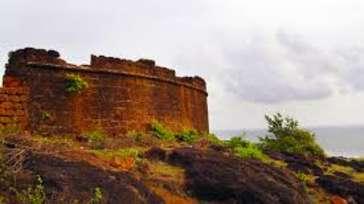 The Eternal Wave, Calangute, Goa Goa Chapora Fort The Eternal Wave Calangute Goa