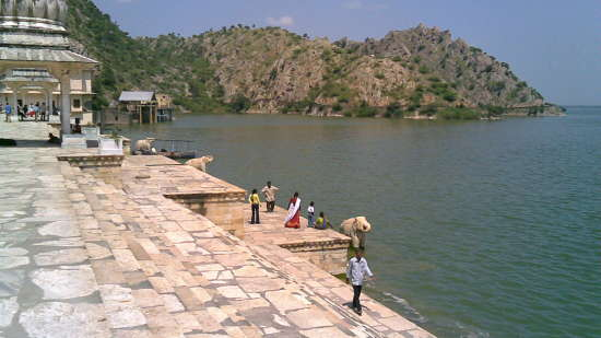 Jaisamand Lake Near Hotel Tijara Fort Palace, Hotels in Alwar Rajasthan 1