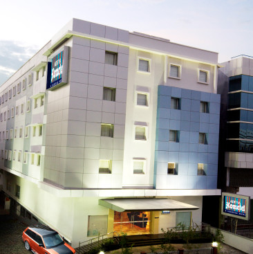 Facade at Aditya Hometel Hyderabad, best hotels in hyderabad 1