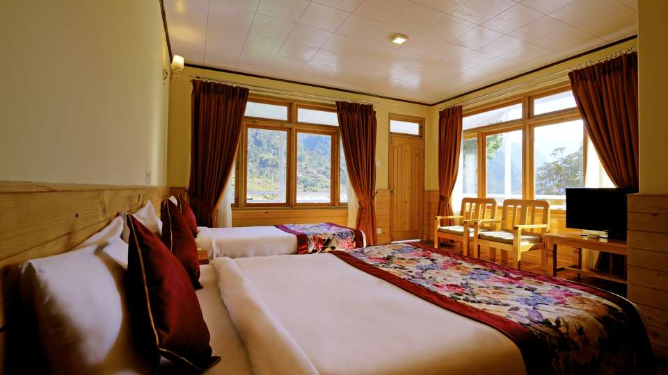 Deluxe Room at at Summit Alpine Resort Lachung 2