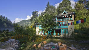 Parvati River Cottage Kasol Hotel Parvati Woods Camps in Kasol IMG 6206
