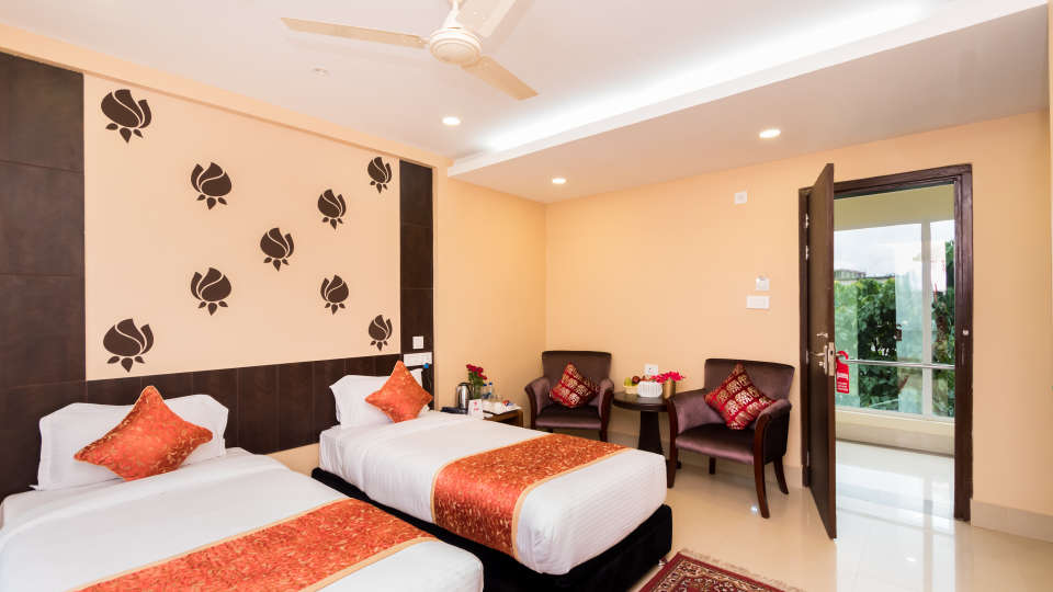 Central Courtyard Boutique Resort, Siliguri Siliguri Deluxe01