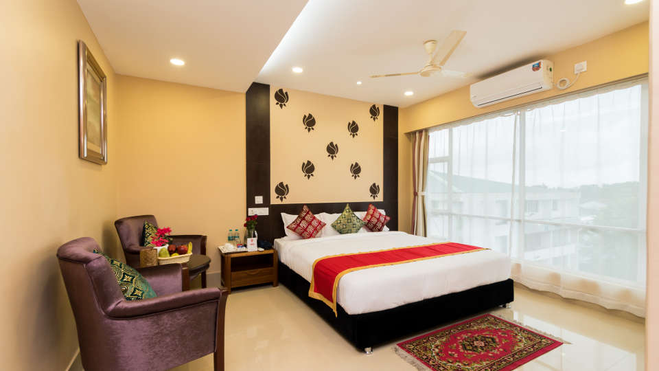 Central Courtyard Boutique Resort, Siliguri Siliguri Deluxe03
