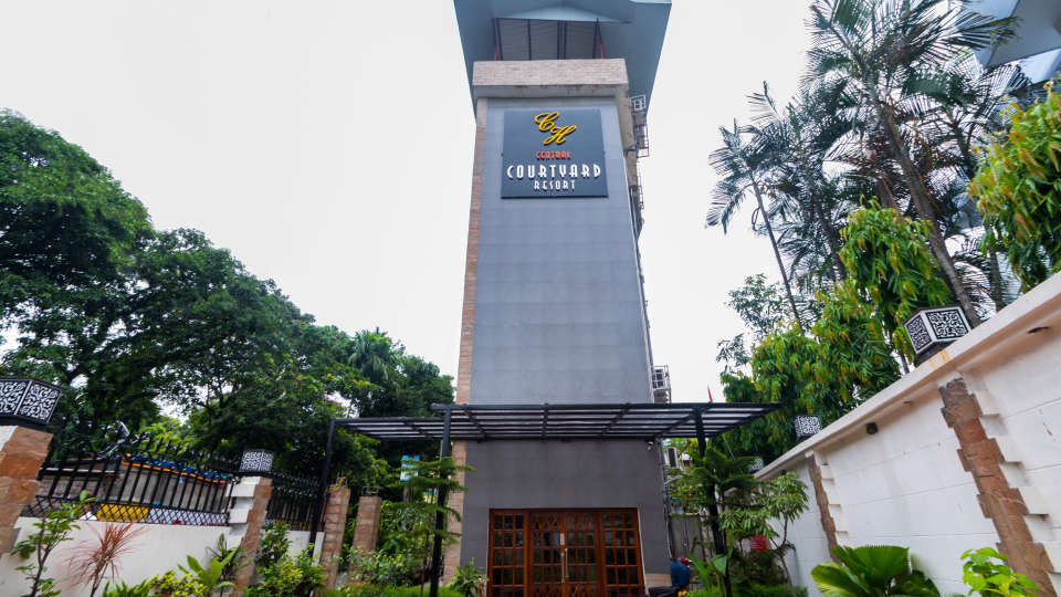 Central Courtyard Boutique Resort, Siliguri Siliguri Frontage
