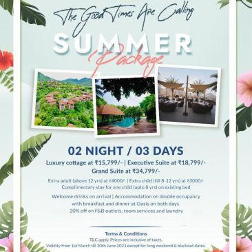 Summer stay in Udaipur package