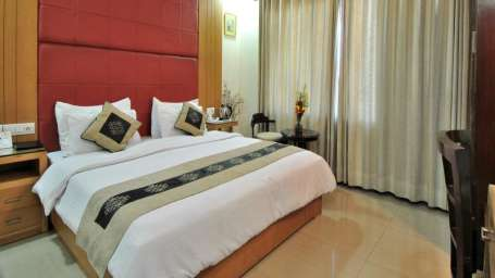 The Cosy Hotels  deluxe rooms hotel cosy palace east of kailash new delhi