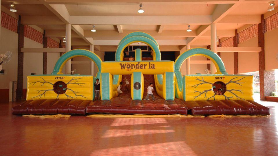 Kids Rides - Moon Walker at  Wonderla Amusement Park Bangalore