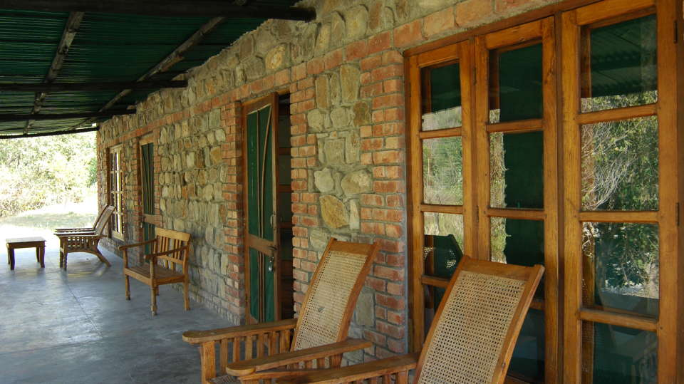 Lavish Verandahs at  Wild Brook Retreat, Rajaji National Park