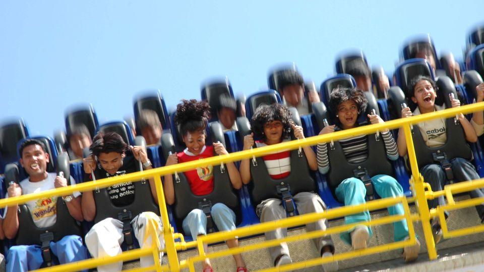 Thrillers Rides - Maveric at  Wonderla Amusement Park Bangalore